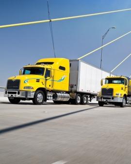 Conducción eficiente en el transporte por carretera