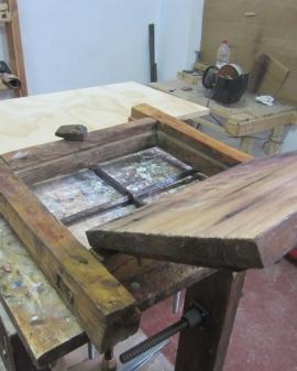 Preparación de soportes para la aplicación de productos de acabado