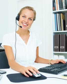 Atención al cliente en el puesto comercial